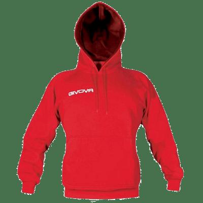 Givova Cappuccio kapucnis felső, piros