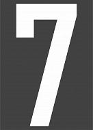 SIMA szám + felirat