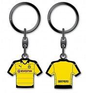 Borussia Dortmund fém kulcstartó, mezes