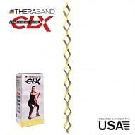 THERABAND CLX - Consecutive Loops 2,2 méteres gyenge, sárga