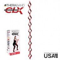 THERABAND CLX - Consecutive Loops 2,2 méteres közepes,piros