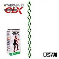 THERABAND CLX - Consecutive Loops 2,2 méteres erős, zöld