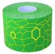 THERABAND Kineziológiai tapasz, zöld, sárga mintával
