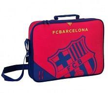 FC Barcelona laptop táska, bordó-sötétkék