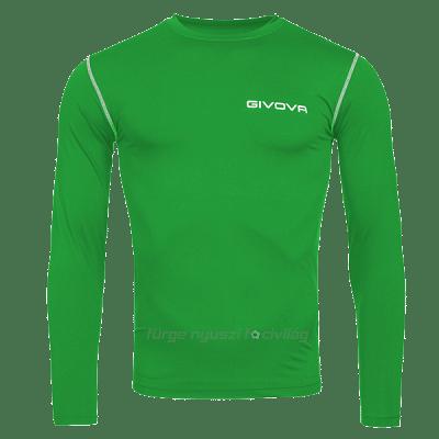 Givova Corpus 3 hosszúujjú alámez, zöld