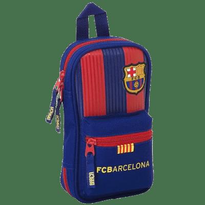 FC Barcelona töltött tolltartó, hátizsák alakú