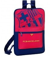 FC Barcelona laptop táska, bordó-kék
