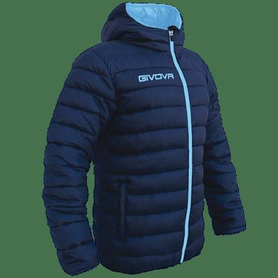 Givova Olanda átmeneti kabát, sötétkék-türkízkék