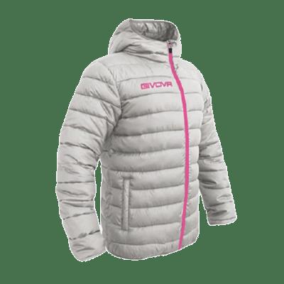 Givova Olanda átmeneti kabát, szürke-pink