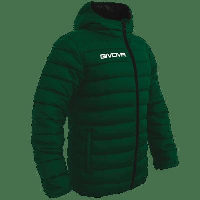 Givova Olanda átmeneti kabát, sötétzöld-fekete