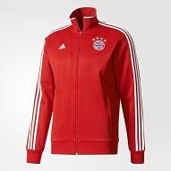 FC Bayern München 2017/18 cipzáras felső, piros