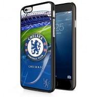 Chelsea FC 3D iPhone 6 hátlap, címeres