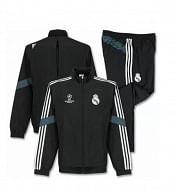 Adidas Real Madrid 2014/15 szabadidőruha, gyerekméret, fekete