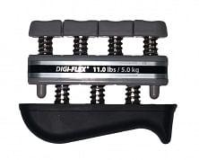 THERABAND Digi-Flex, kéz/ujj erősítő,ezüst, erősség: 5 kg - 17,2 kg