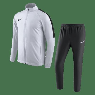 Nike Academy 18 melegítő szett, fehér-fekete