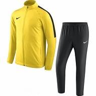 Nike Academy 18 melegítő szett, gyerek méret, sárga-fekete
