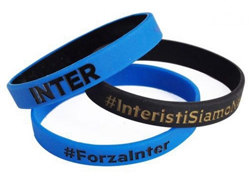 FC Internazionale 3 db-os szilikon karkötő