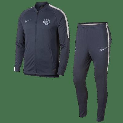 Nike Fc Internazionale 2018 Dri-FIT Squad melegítő szett, kék