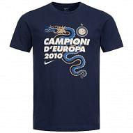 Nike FC Internazionale Campioni d'Europa 2010 pamutpóló, sötétkék