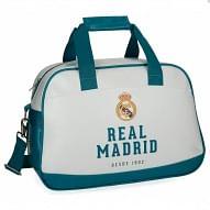 Real Madrid sporttáska, fehér-kék