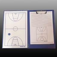 Taktikai tábla, A/4-es mappa, kosárlabda