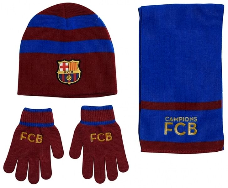 FC Barcelona téli csomag, bordó