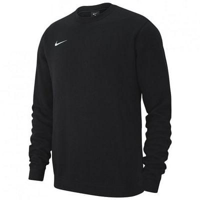 Nike Team Club 19 Crew melegítő felső, fekete