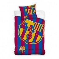 FC Barcelona ágyneműhuzat, csíkos nagy logós
