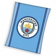 Manchester City FC polár pléd