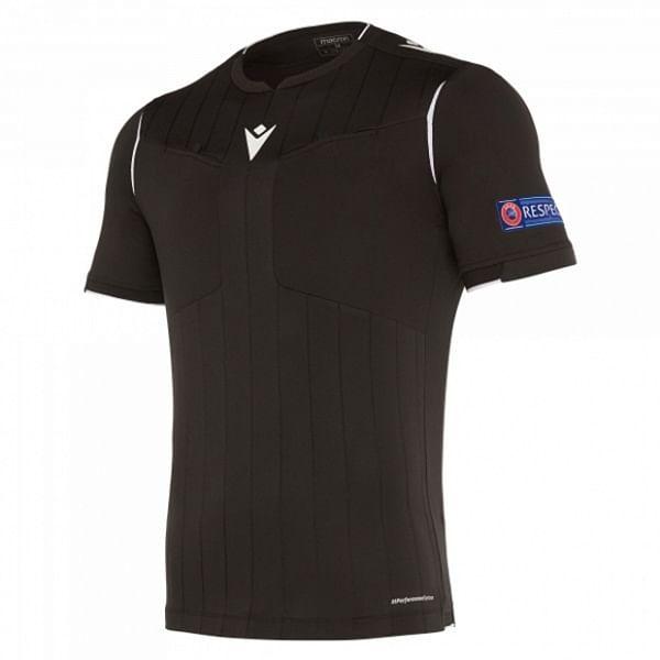 Macron UEFA játékvezetői mez, fekete