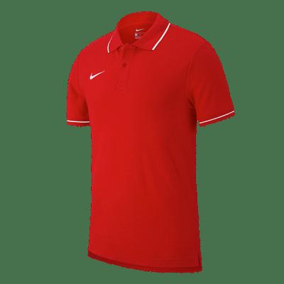 Nike Club 19 galléros póló, piros