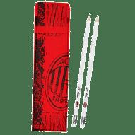 A.C. Milan radíros ceruza, tartóban, 2 db-os