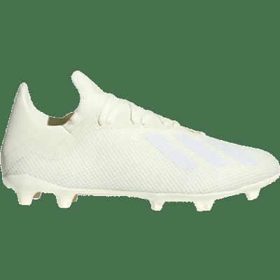 Adidas X 18.3 FG stoplis focicipő, törtfehér