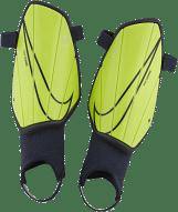 Nike Charge sípcsontvédő, fluo-zöld