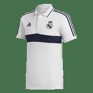 Adidas Real Madrid 2019/20 galléros póló, fehér-sötétkék