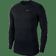 Nike Pro Warm férfi edzőfelső, fekete