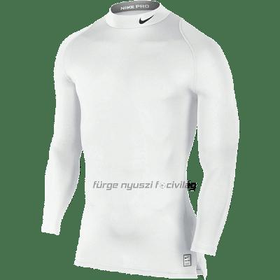 Nike Pro férfi edzőfelső, fehér