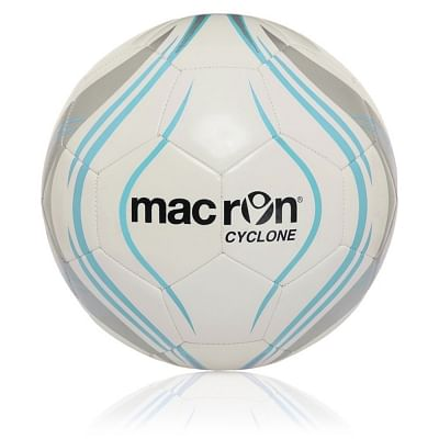 Macron Cyclone edzőlabda, fehér-kék