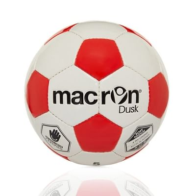 Macron Dusk edzőlabda, fehér-piros