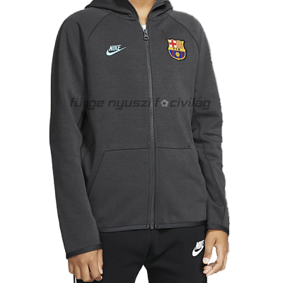 Nike FC Barcelona Tech Fleece kapucnis pulóver 2019/20, gyerekméret