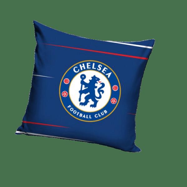 Chelsea FC kispárna 40x40, kék