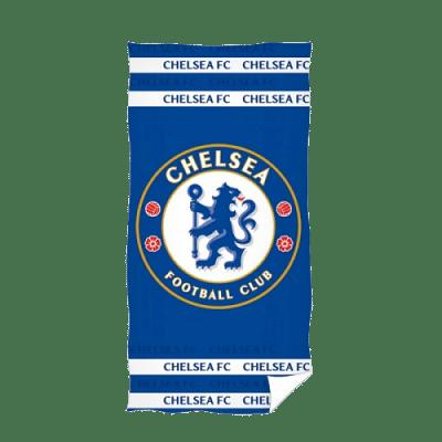 Chelsea FC törölköző, kék, nagy címeres
