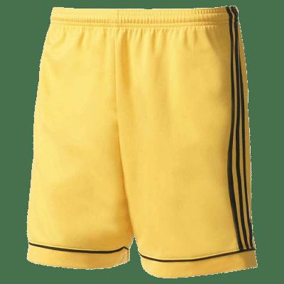Adidas Squadra 17 rövidnadrág, sárga, gyerekméret