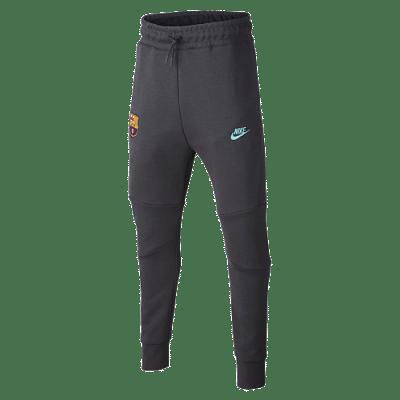 Nike FC Barcelona Tech Fleece melegítőnadrág, 2019/20, gyerekméret