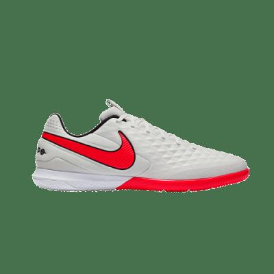 Nike Tiempo React Legend 8 Pro IC teremcipő,  fehér-piros