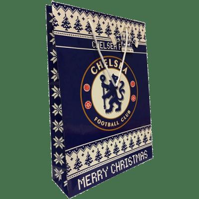 Chelsea FC karácsonyi ajándékszatyor