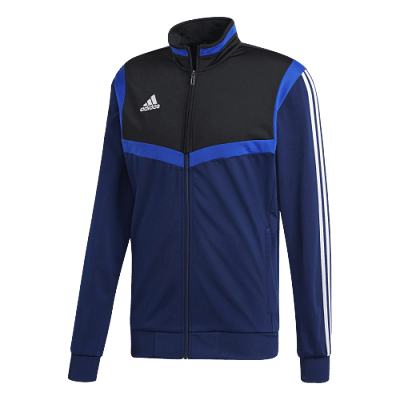 Adidas Tiro 19 melegítőfelső, fekete-kék