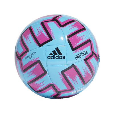 Adidas Uniforia Club focilabda, kék-rózsaszín, EB labda 2020