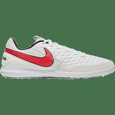 Nike Tiempo Legend 8 Academy IC teremcipő, szürke-karmazsinvörös