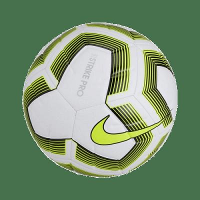 Nike Strike Pro Team focilabda, fluozöld